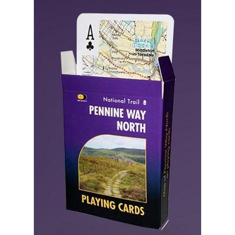 Harveys Playing Cards Pennine Way North