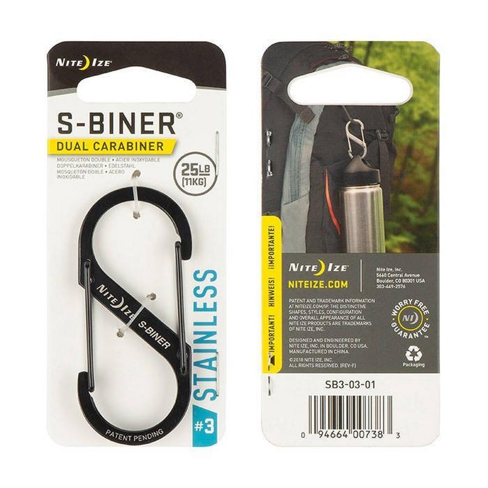 Nite-ize S-Biner #2 - Black