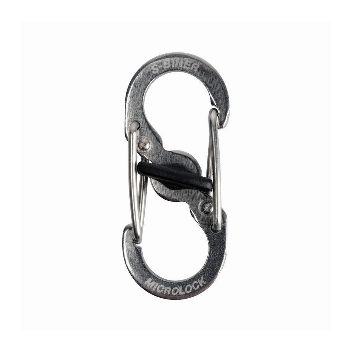 Nite-ize S-Biner Microlock Stainless Steel 2Pack