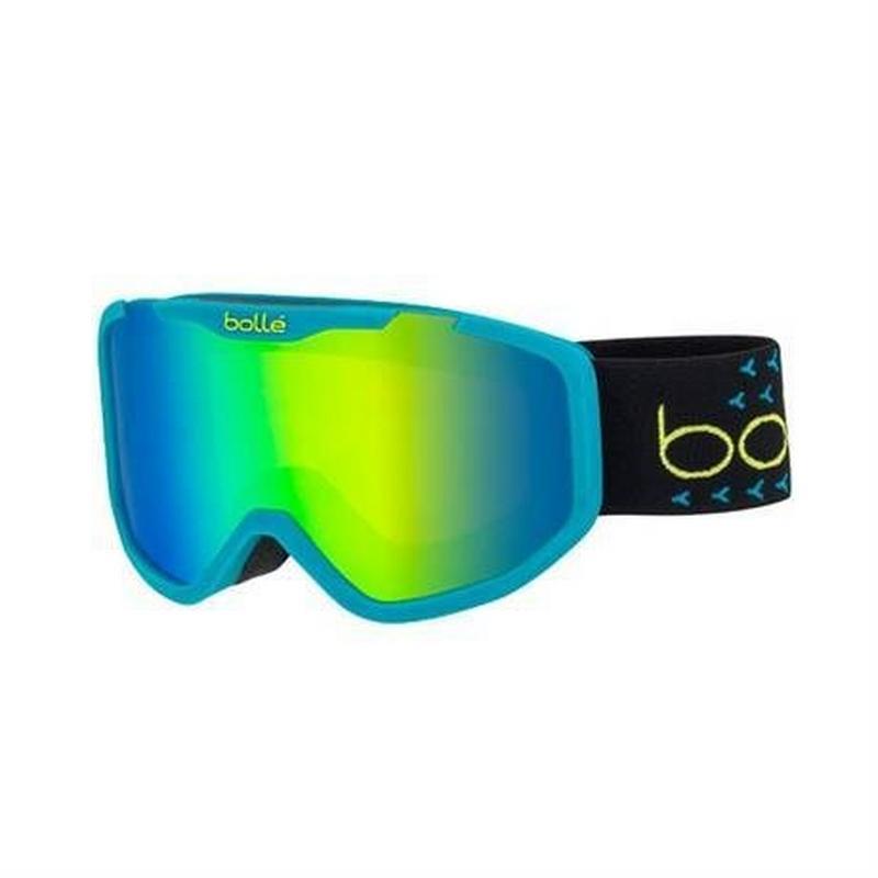 Ski Goggles Kid's Rocket Plus Junior Blue/Black/Green