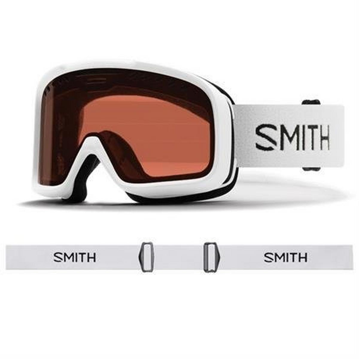 Smith Optics Smith Ski Goggles Project White RC36 Lens Cat 2