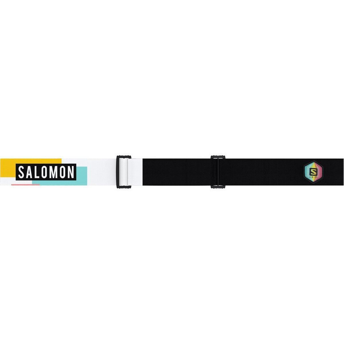 Salomon Ski Goggles LO FI SIGMA Black-Safran/Uni.Pop Cat 3