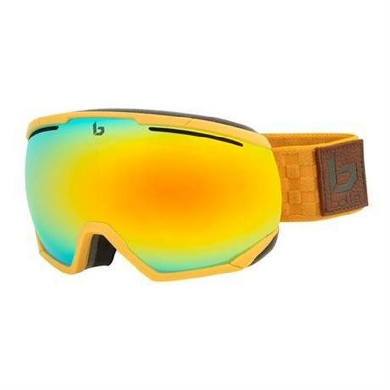 Ski Goggles Northstar Matte Brown Squares Sunshine Cat 3
