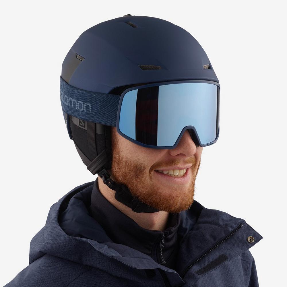 Salomon Lo Fi Sigma Goggle - Blue