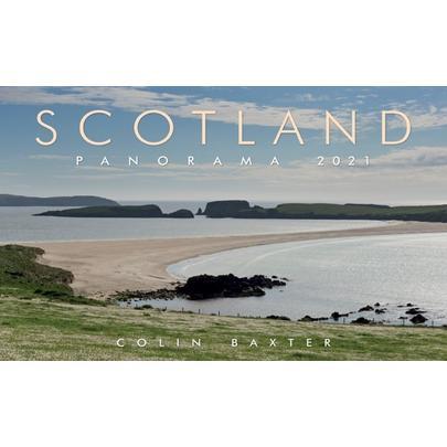 Colin Baxter Scotland Panorama 2021 Calendar