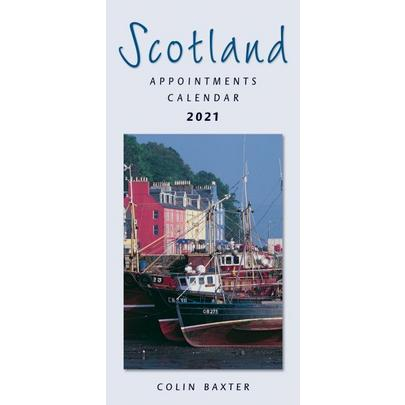 Colin Baxter Scotland Appointments 2021 Calendar