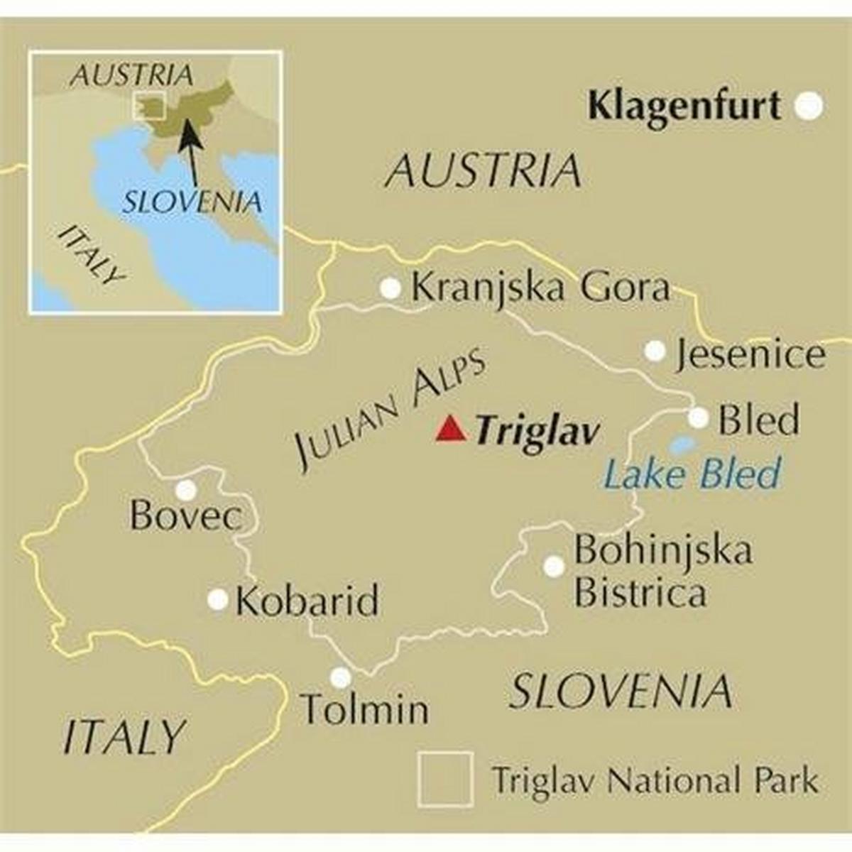 Cicerone Guide Book: The Julian Alps of Slovenia