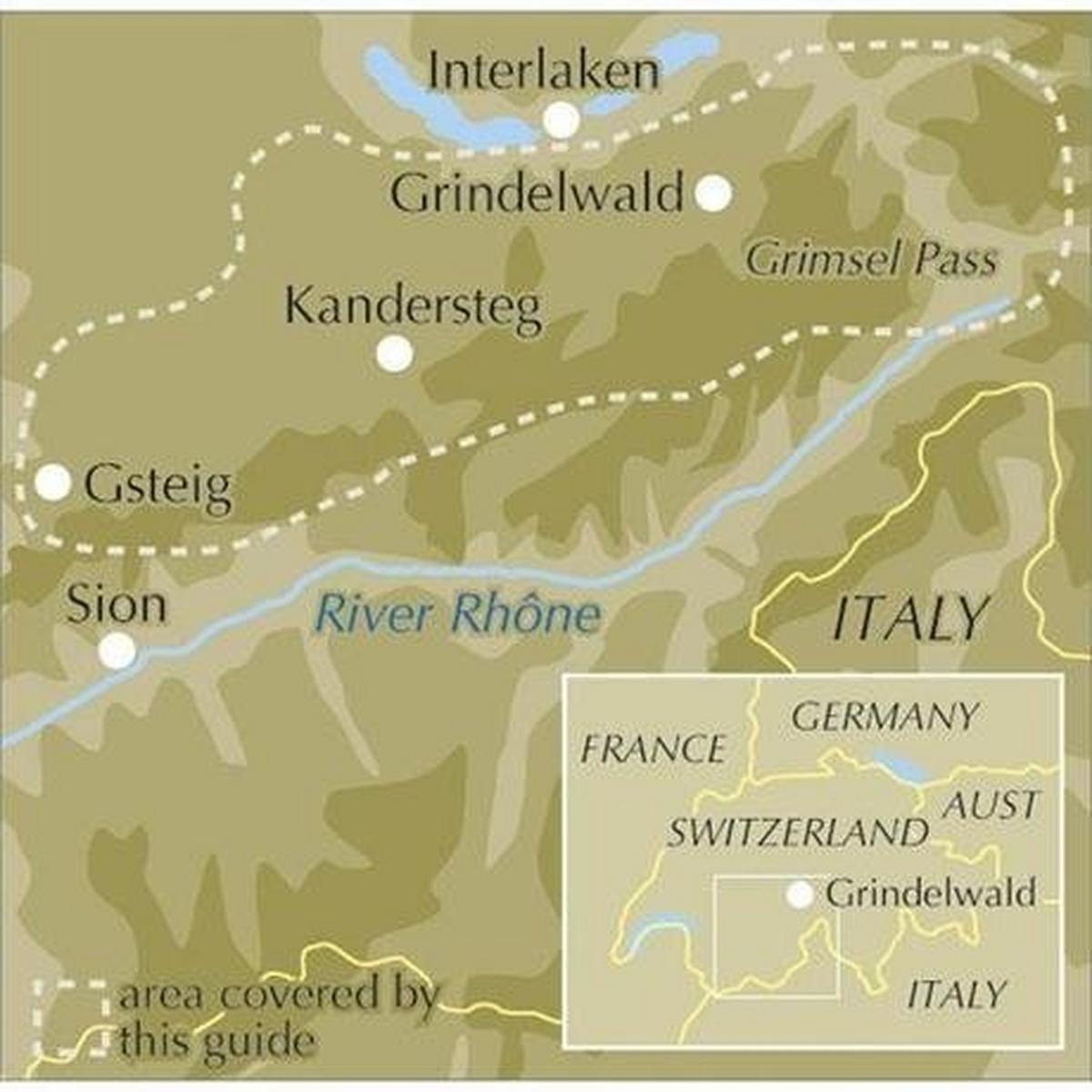 Cicerone Guide Book: Walking in the Bernese Oberland
