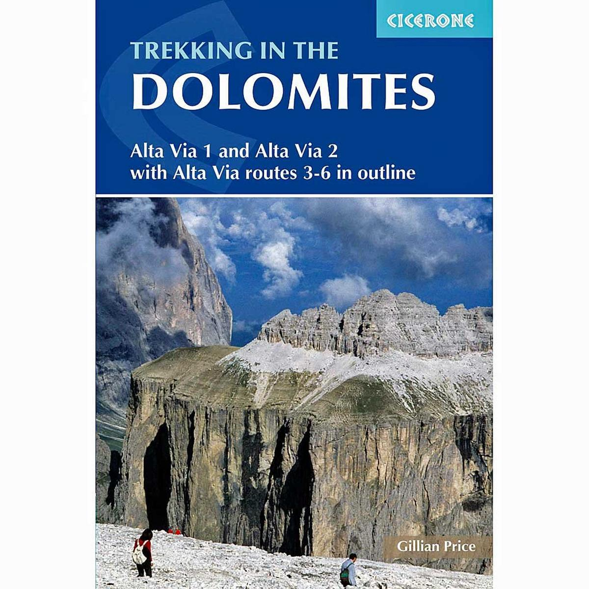 Cicerone Guide Book: Trekking in the Dolomites