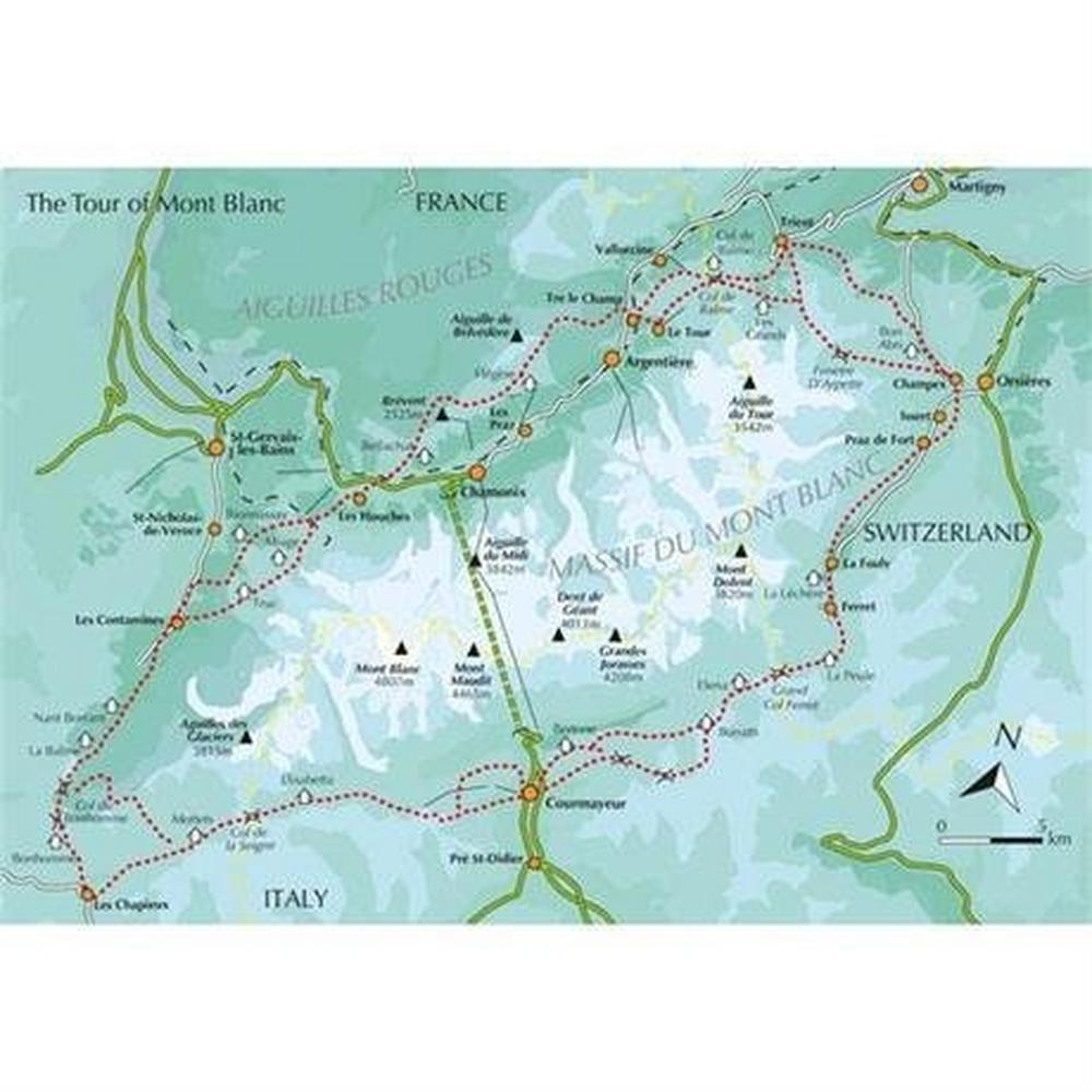 Cicerone Guide Book: Tour of Mont Blanc