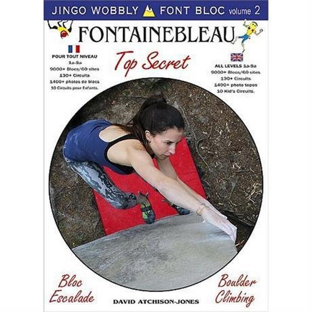 Miscellaneous Climbing Guide Book: Fontainebleau Fun Bloc - Jingo Wobbly