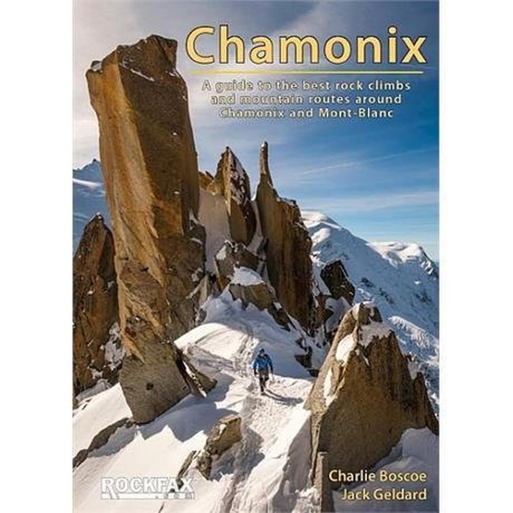 Rockfax Climbing Guide Book: Chamonix