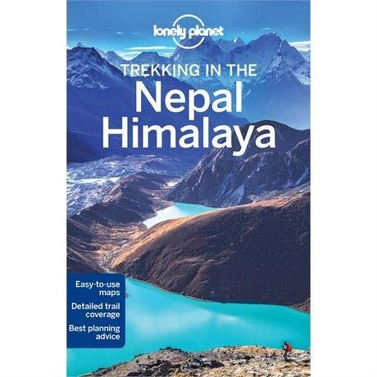 Lonely Planet Travel Guide Book: Trekking in the Nepal Himalaya (10th Edition)