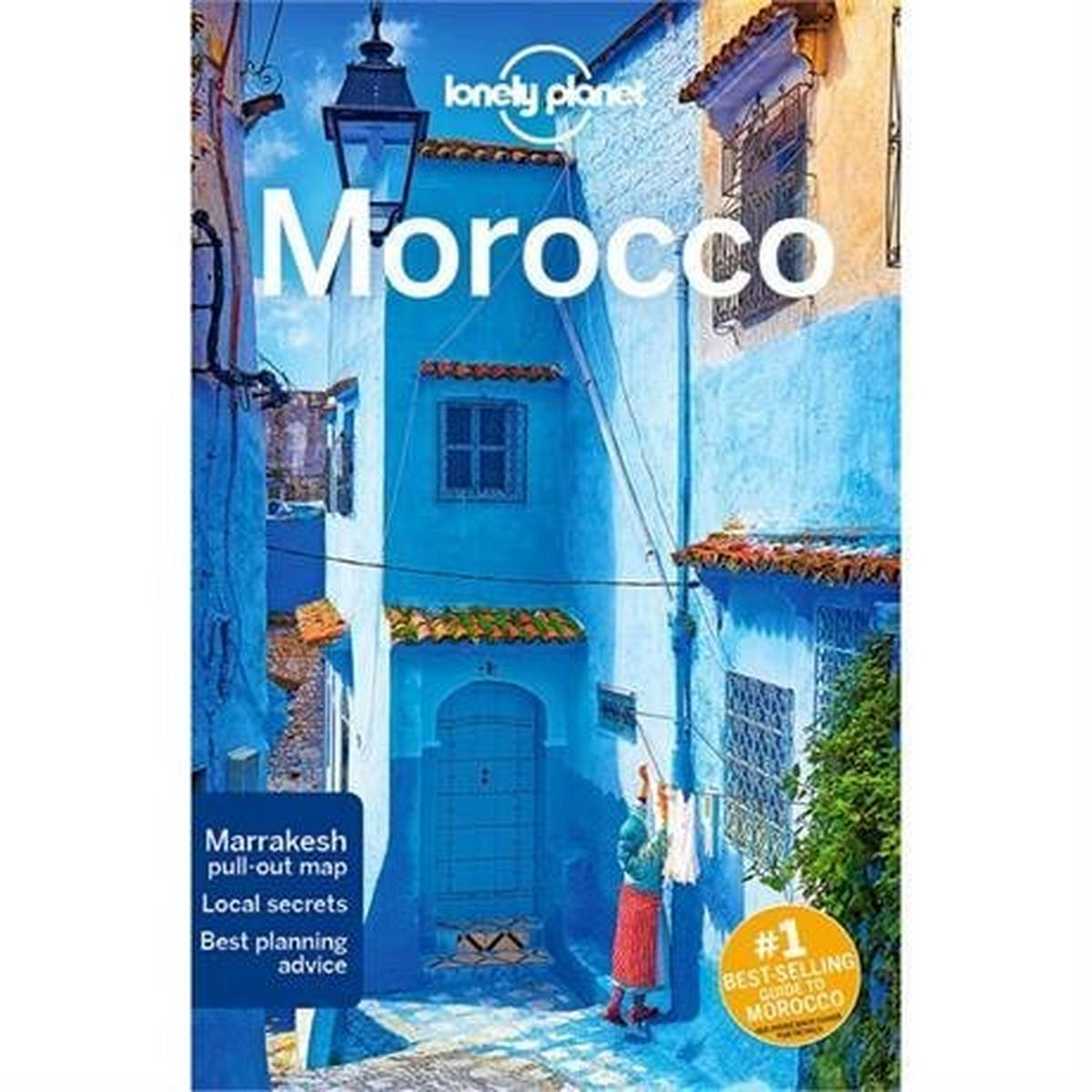 Lonely Planet Travel Guide Book: Morocco (12th Edition)