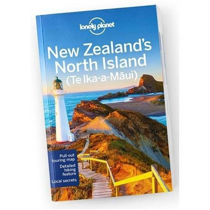 Travel Guide Book: New Zealand's North Island (5th Edition)