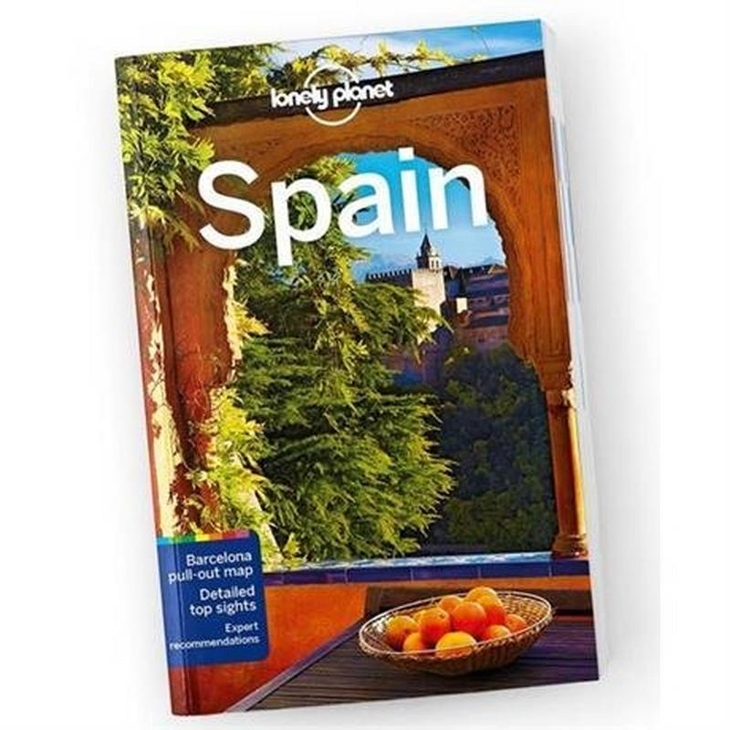 Travel Guide Book: Spain (12th Edition)
