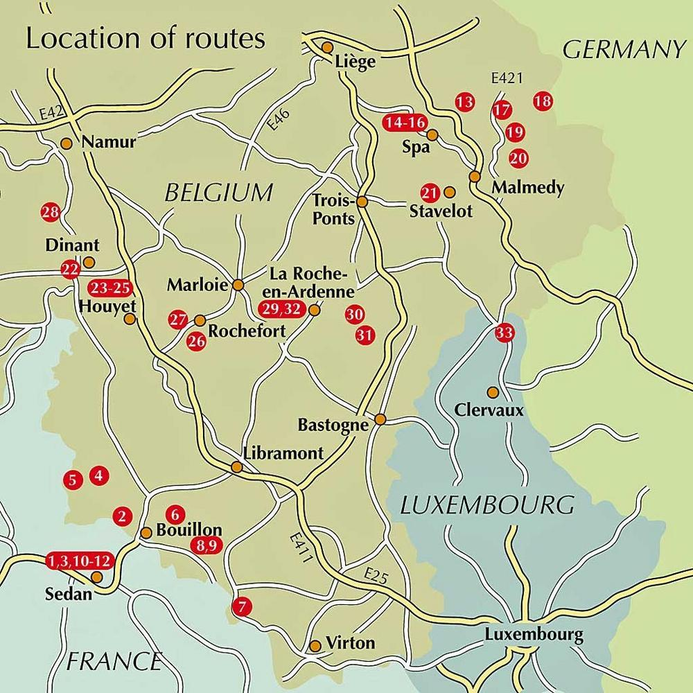Cicerone Guide Book: Walking in the Ardennes