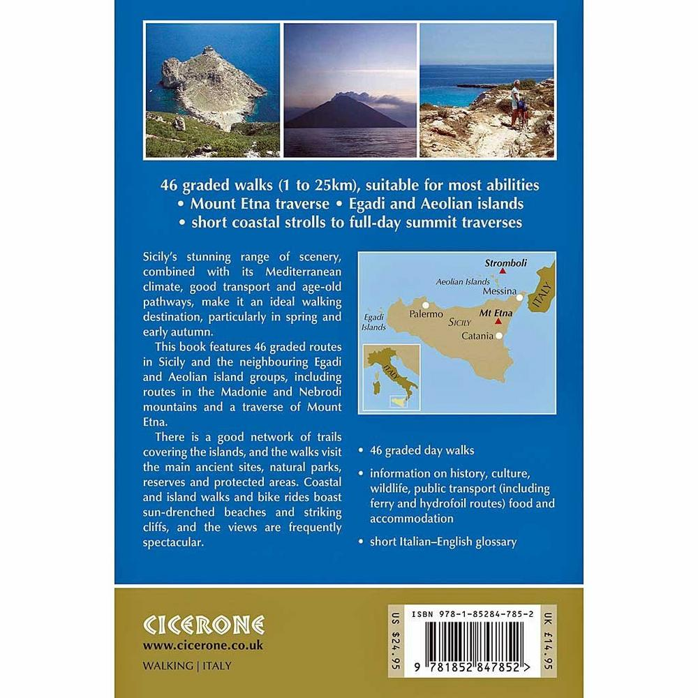 Cicerone Guide Book: Walking in Sicily: Price