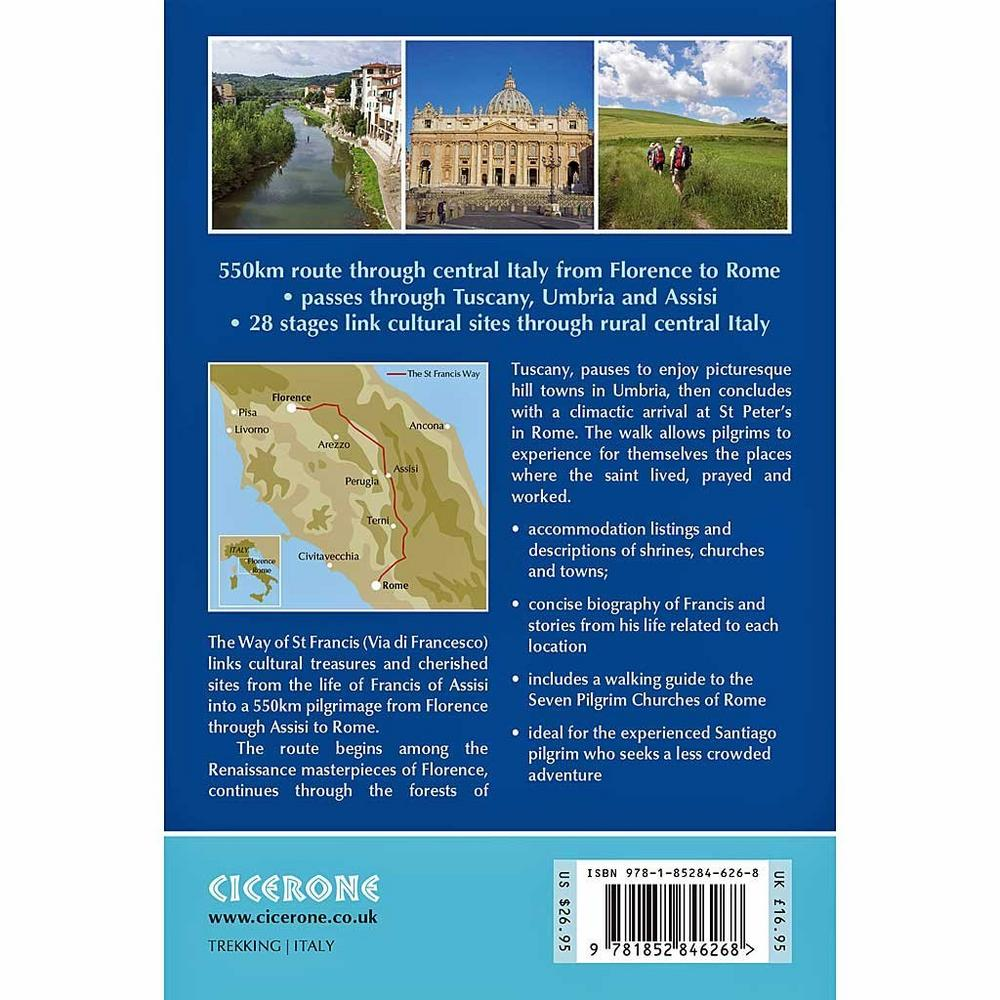 Cicerone Guide Book: The Way of St. Francis