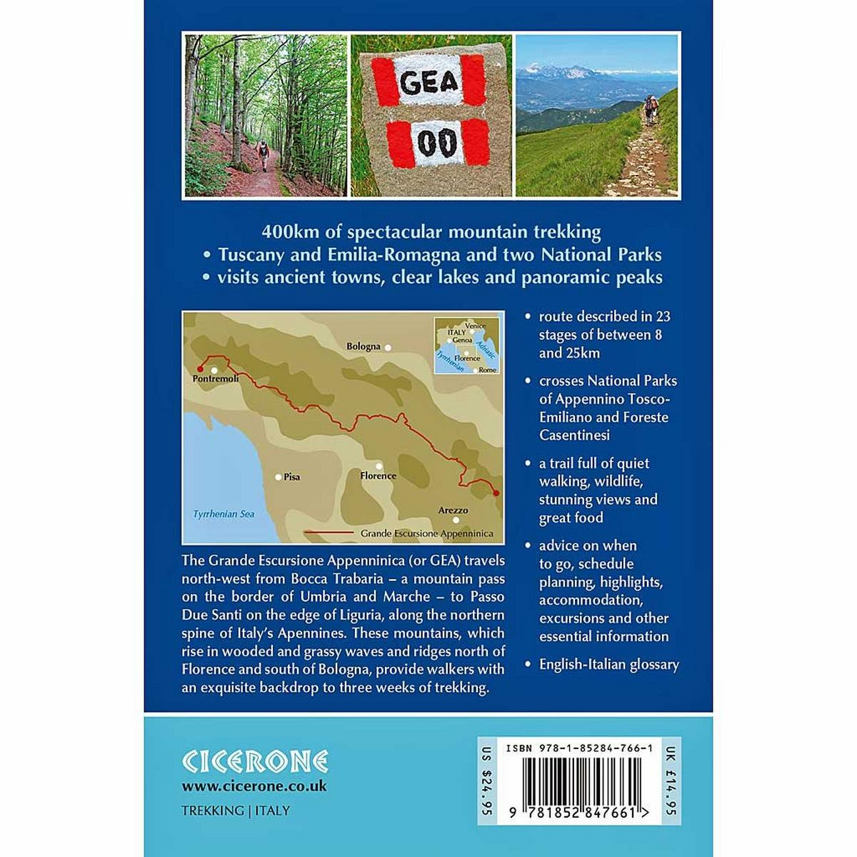 Cicerone Guide Book: Trekking in the Apennines