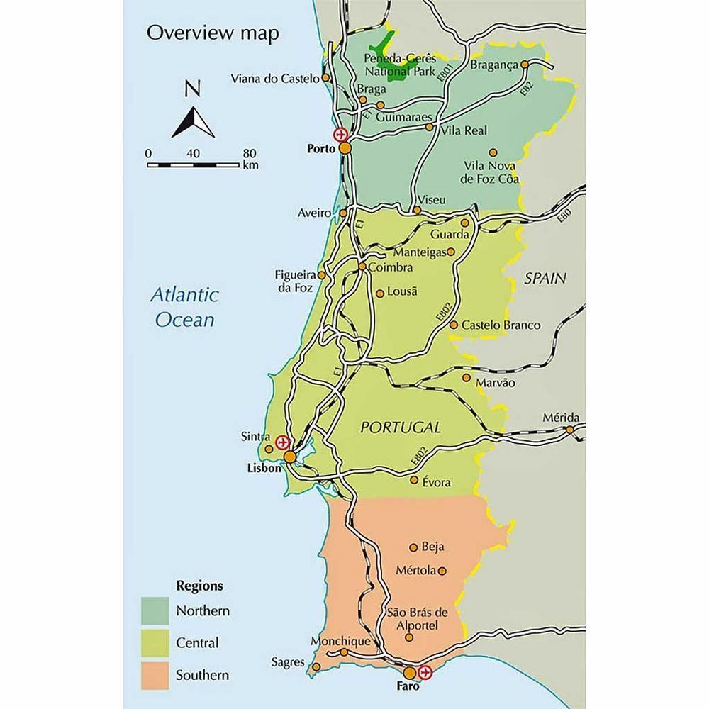 Cicerone Guide Book: Walking in Portugal : Mok & Whitmarsh