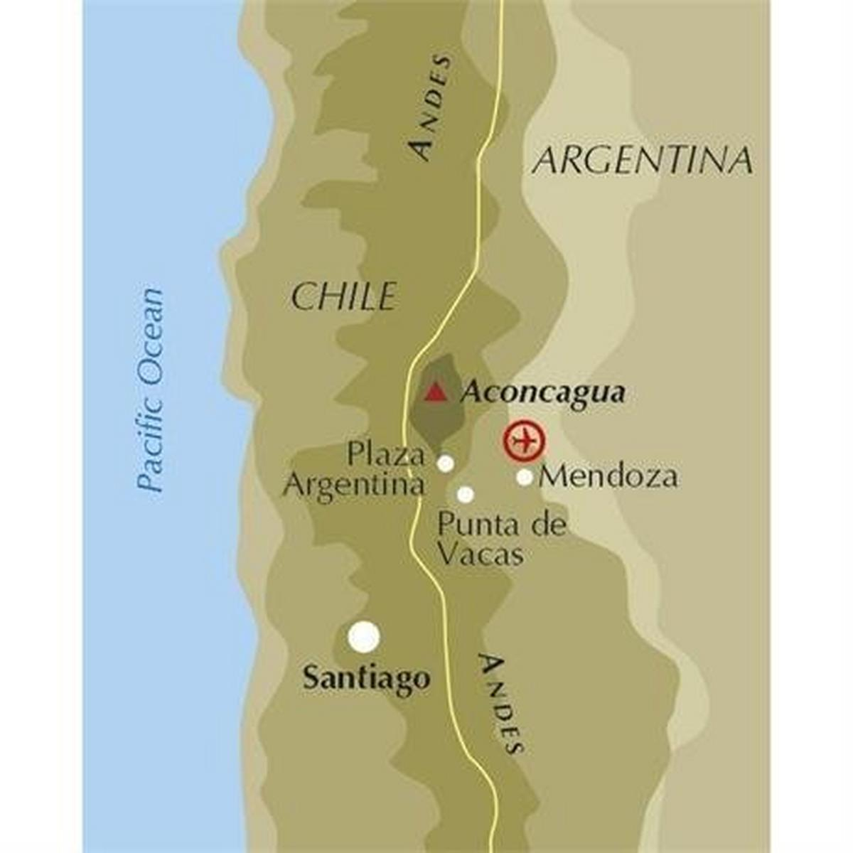 Cicerone Guide Book: Aconcagua and the Southern Andes : Ryan (3rd Edition)