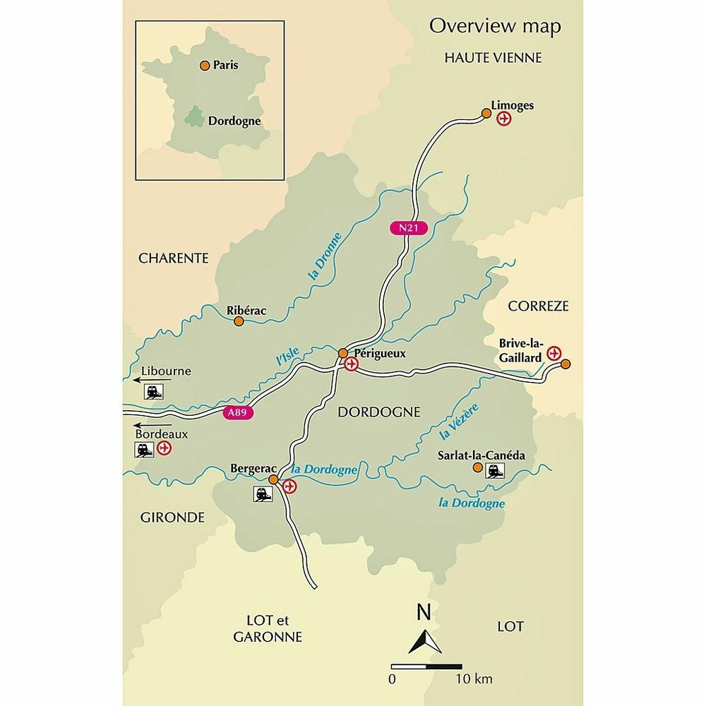 Cicerone Guide Book: Walking in the Dordogne