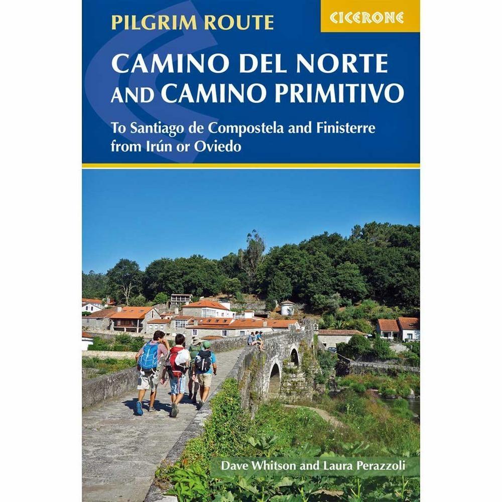 Cicerone Walking Guide Book: Camino Del Norte & Camino Primitivo
