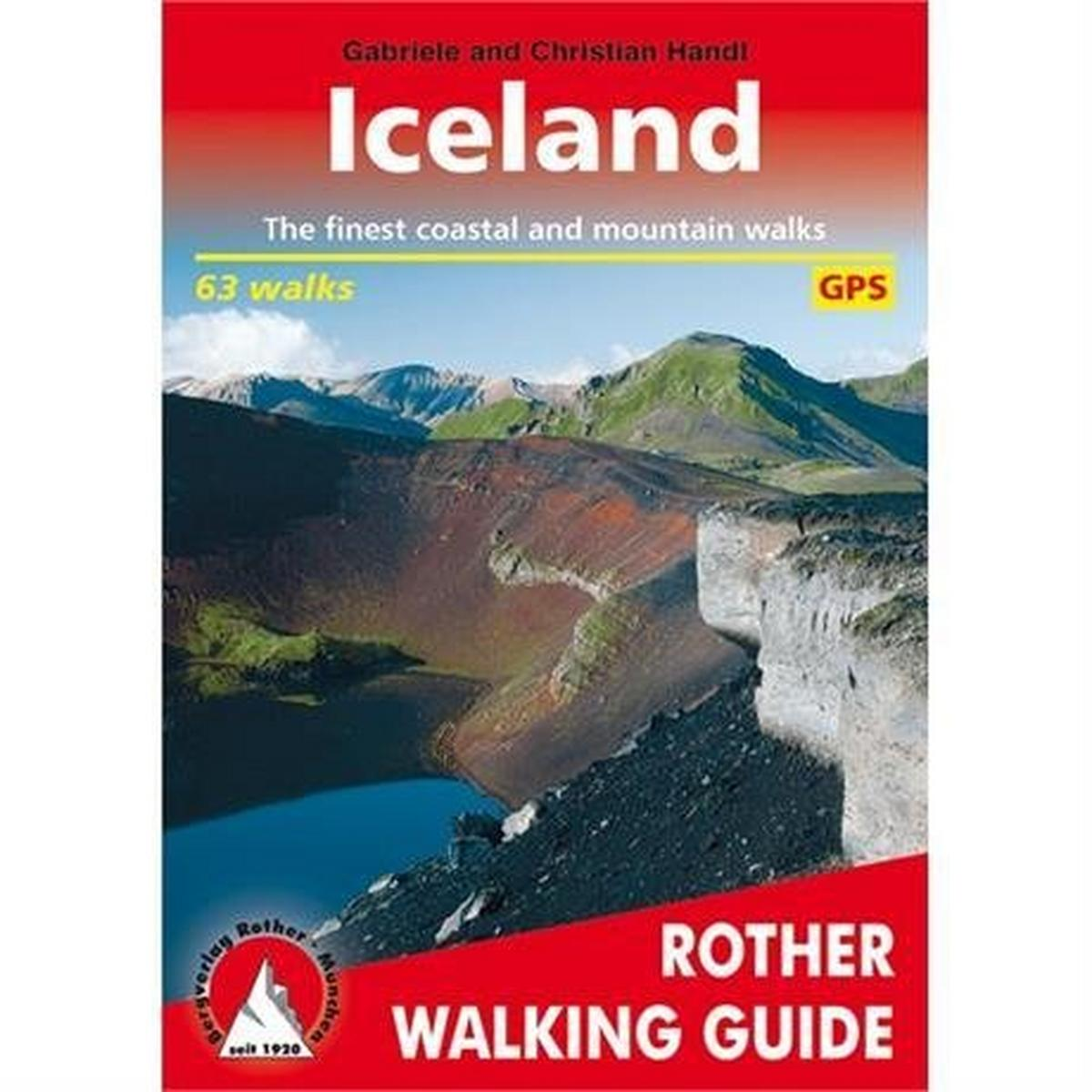 Rother Guides Rother Walking Guide Book: Iceland