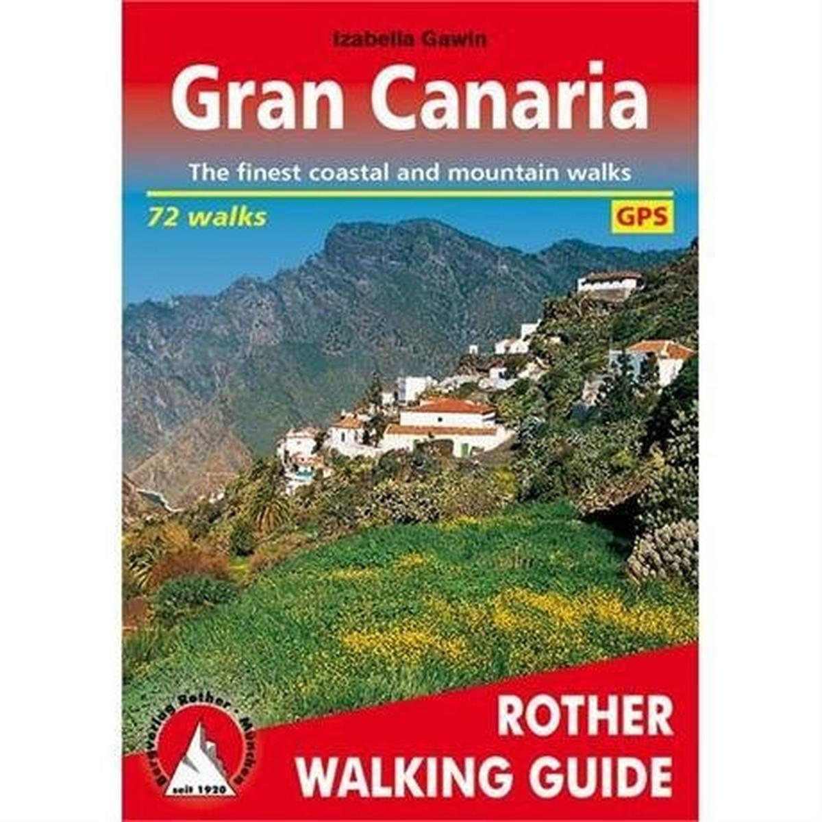 Rother Guides Rother Walking Guide Book: Gran Canaria