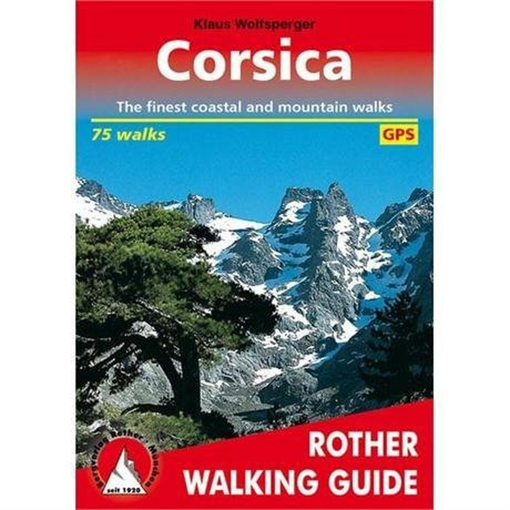 Rother Guides Rother Walking Guide Book: Corsica