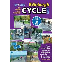Spokes Edinburgh Cycle Map - 10th Edition, Revised 2019