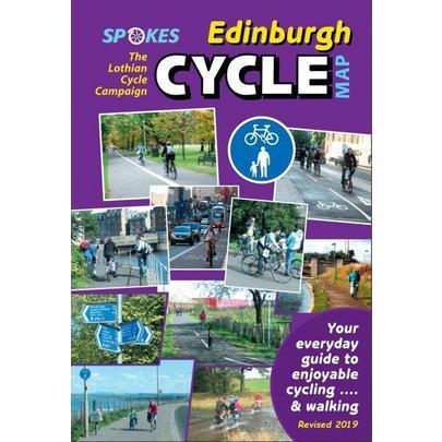Spokes Maps Spokes Edinburgh Cycle Map - 10th Edition, Revised 2019