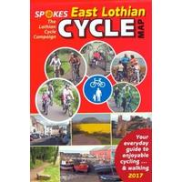 Spokes East Lothian Cycle Map - 4th Edition, 2017