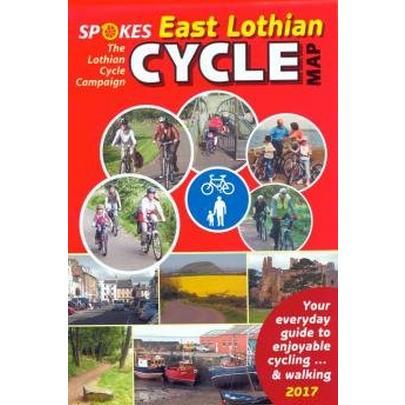 Spokes Maps Spokes East Lothian Cycle Map - 4th Edition, 2017