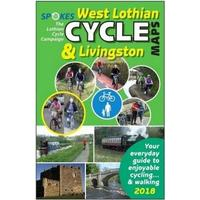 Spokes West Lothian Cycle Map - 4th Edition 2018