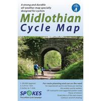 Spokes Midlothian Cycle Map - 5th Edition 2020