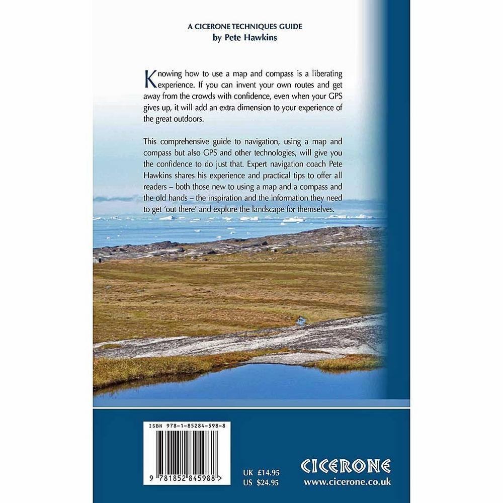Cicerone Guide Book: Map and Compass : Pete Hawkins