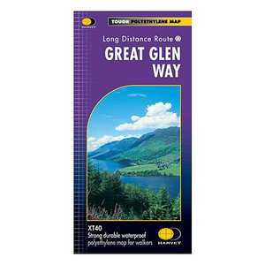 Harvey Map - XT40: The Great Glen Way