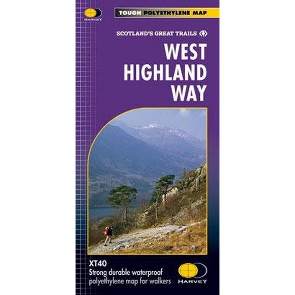 Harveys Harvey Map: West Highland Way