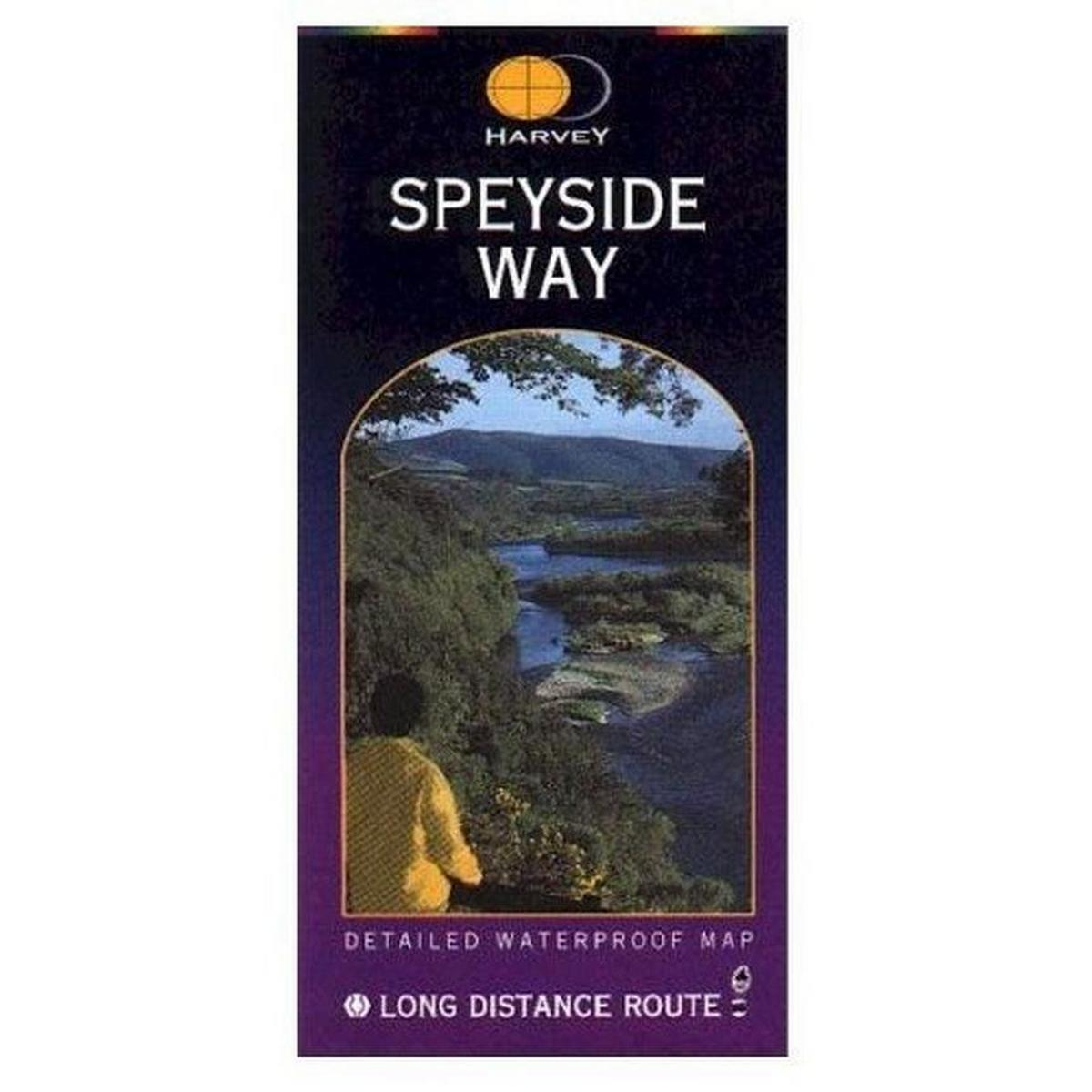 Harveys Harvey Map: Speyside Way