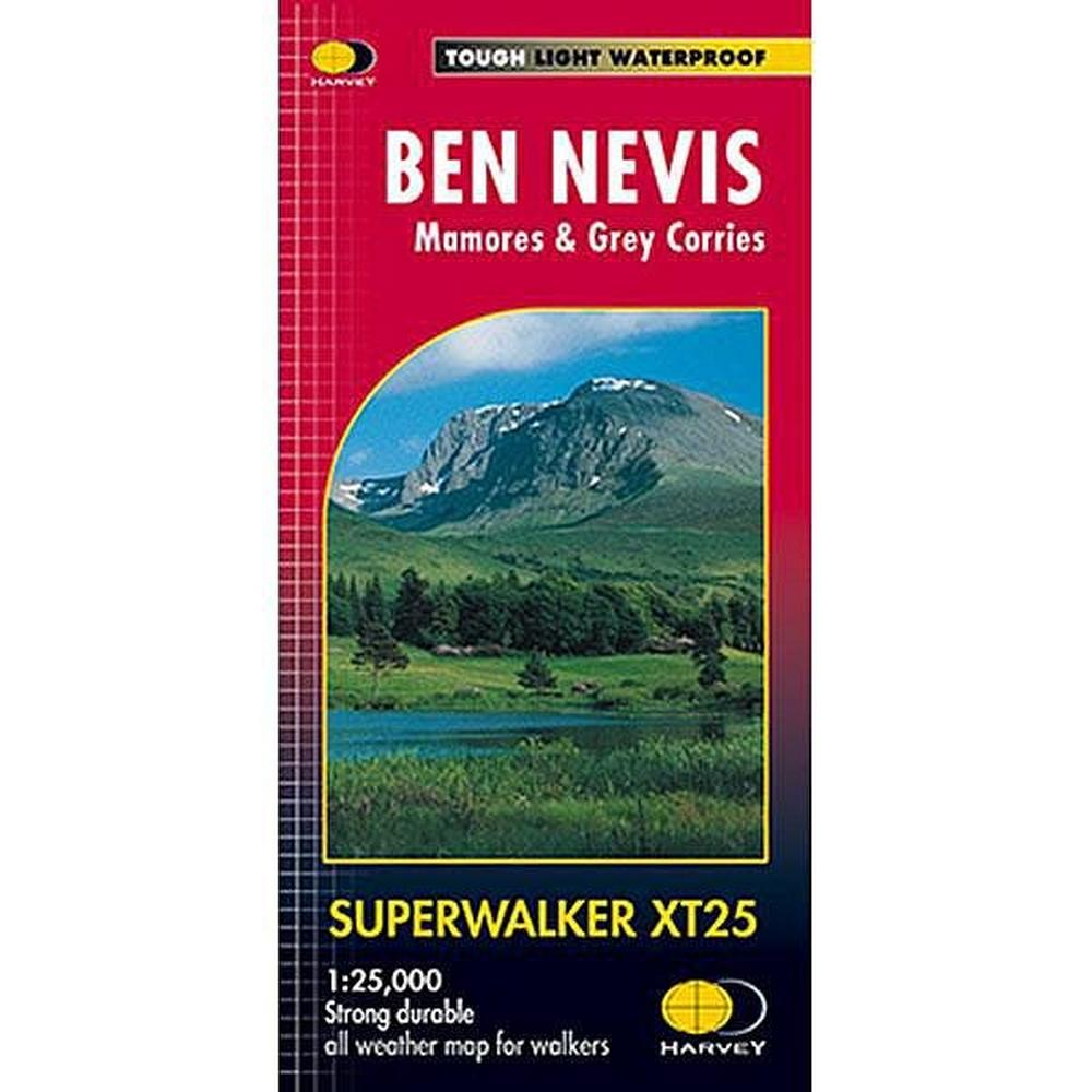 Harveys Harvey Map - Superwalker XT25: Ben Nevis