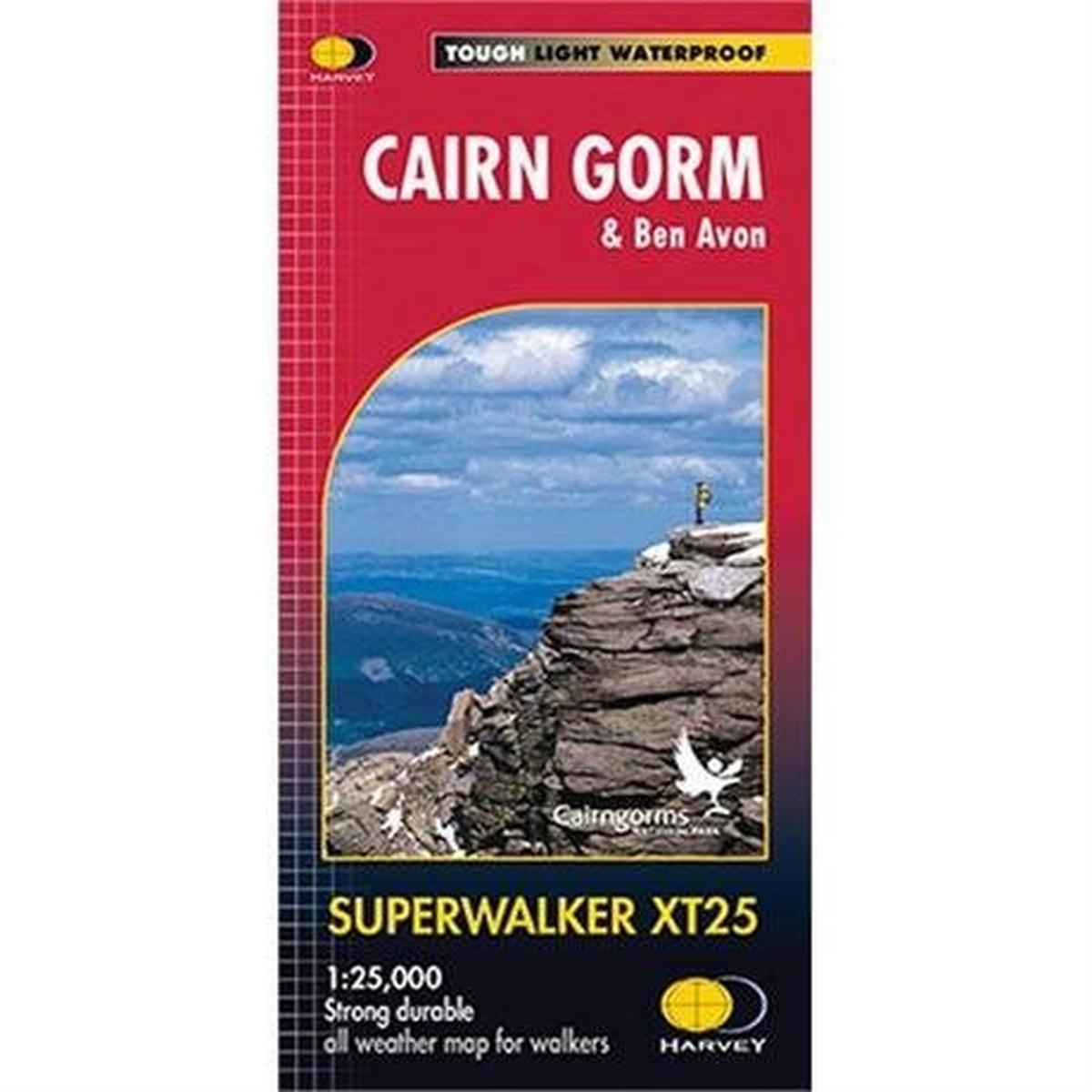 Harveys Harvey Map - Superwalker XT25: Cairn Gorm