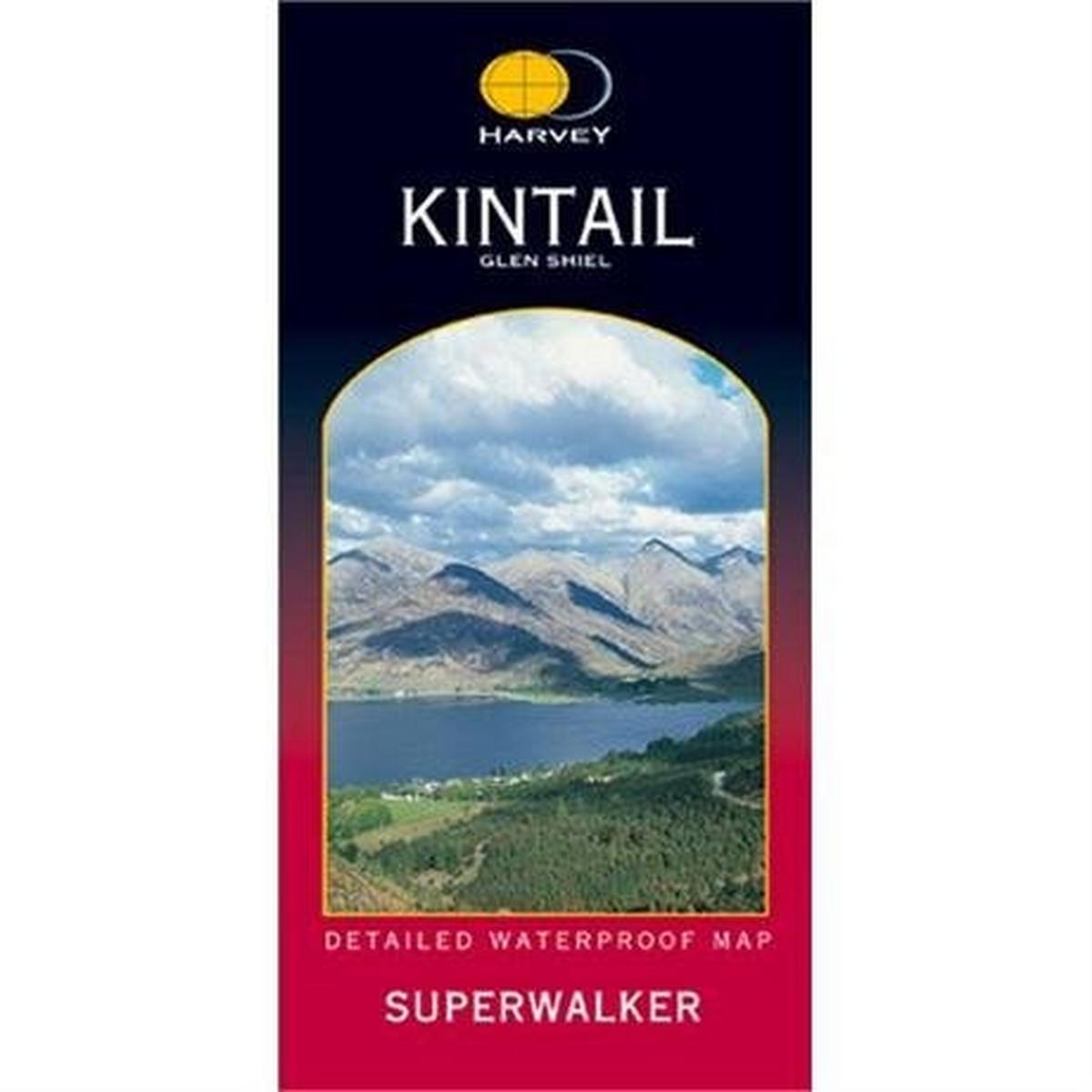 Harveys Harvey Map - Superwalker: Kintail & Glen Shiel