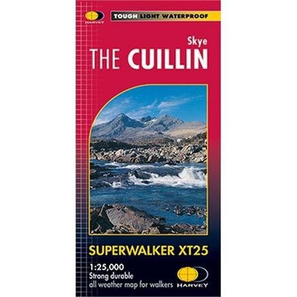 Harveys Harvey Map - Superwalker XT25: Skye The Cuillin