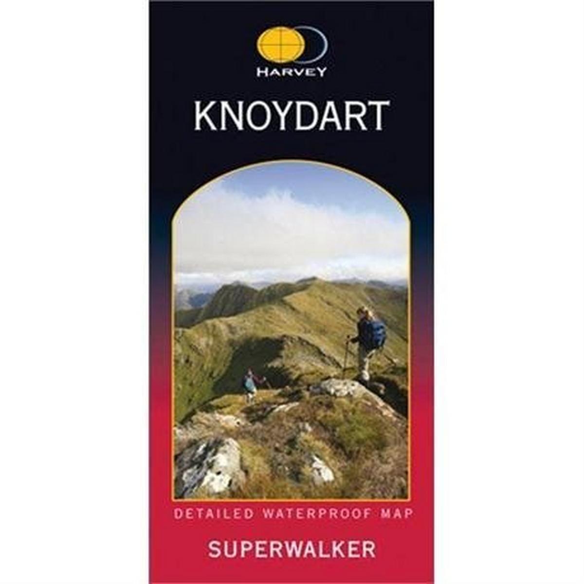 Harveys Harvey Map - Superwalker: Knoydart