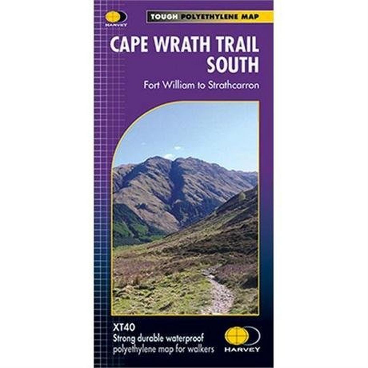 Harveys Harvey Map - XT40: Cape Wrath Trail - South