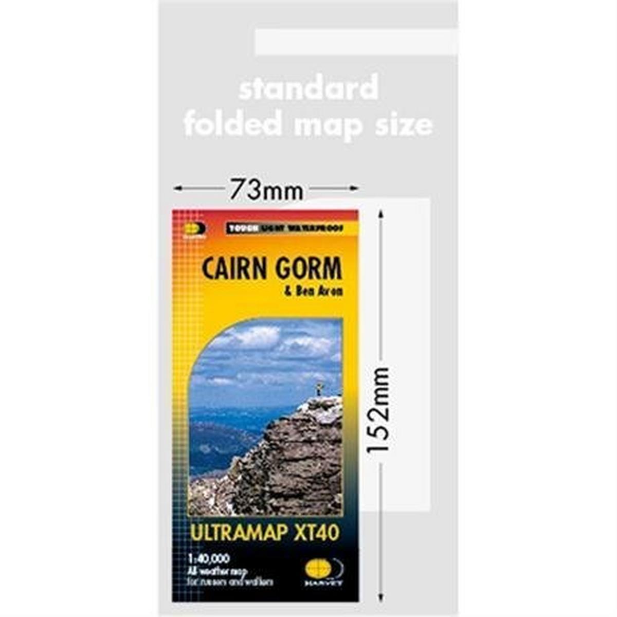 Harveys Harvey Ultramap XT40: Cairngorm and Ben Avon