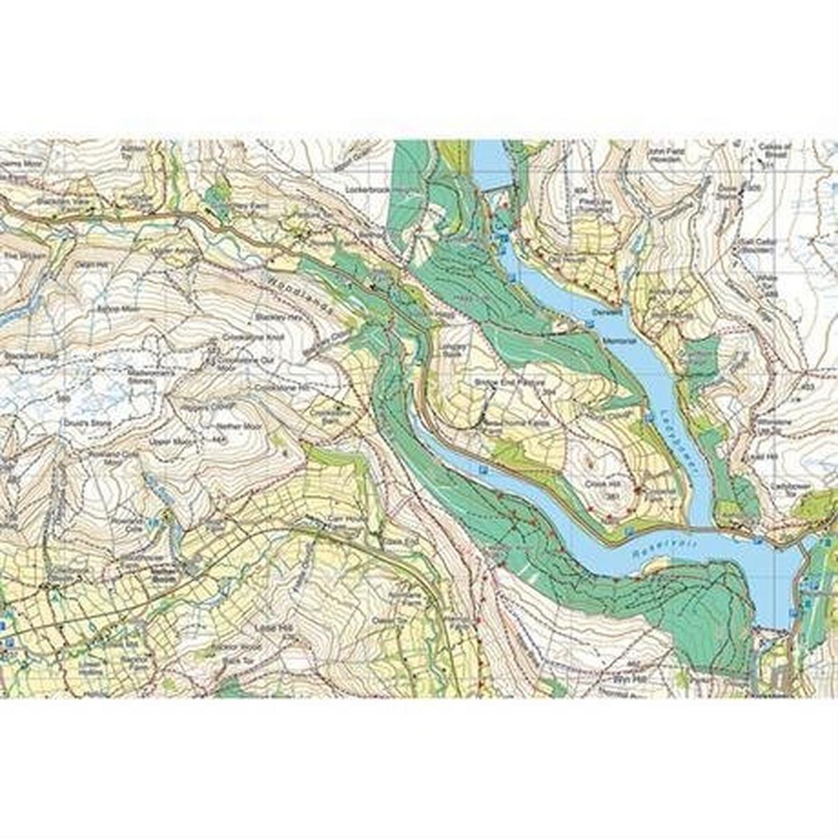 Harveys Harvey Ultramap XT40: Glen Coe