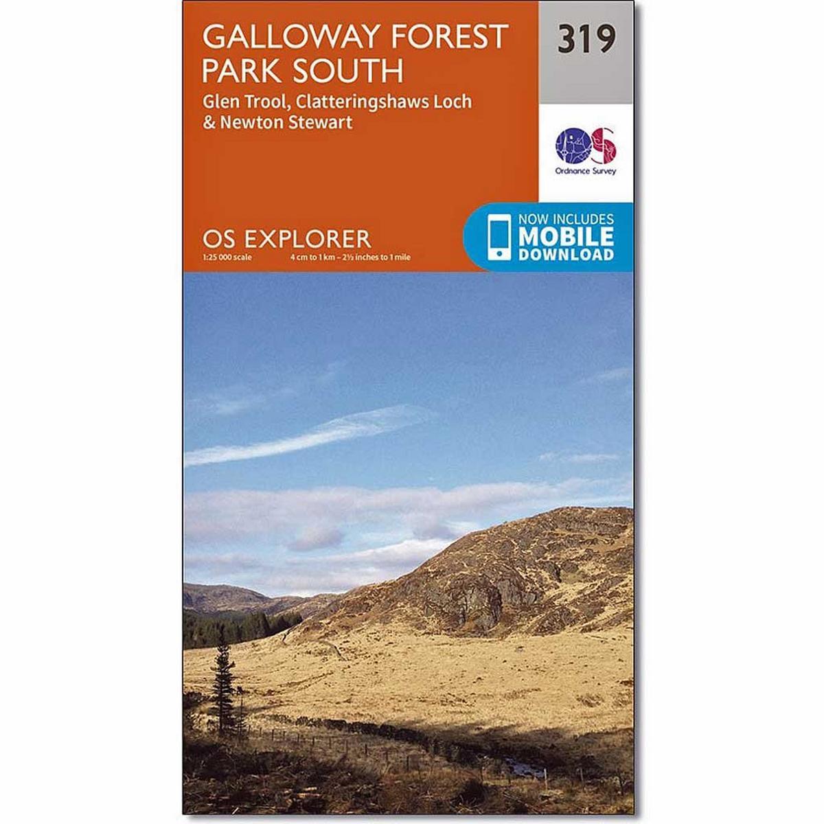 Ordnance Survey OS Explorer Map 319 Galloway Forest Park South